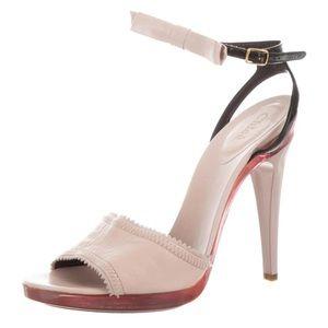 Chloe runway bow heels SS2009 size 40/US9